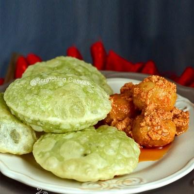 Bengali Koraishutir Kochuri | Peas Kachori | Mutter or Matar Kachori
