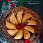 Baked Mawa Gujiya Recipe Food Photography
