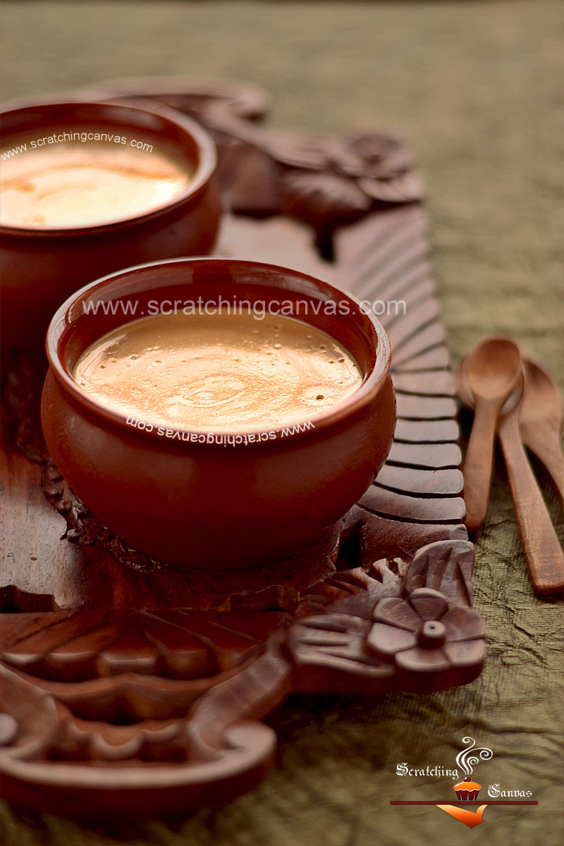 Mishti Doi Food Photography Styling
