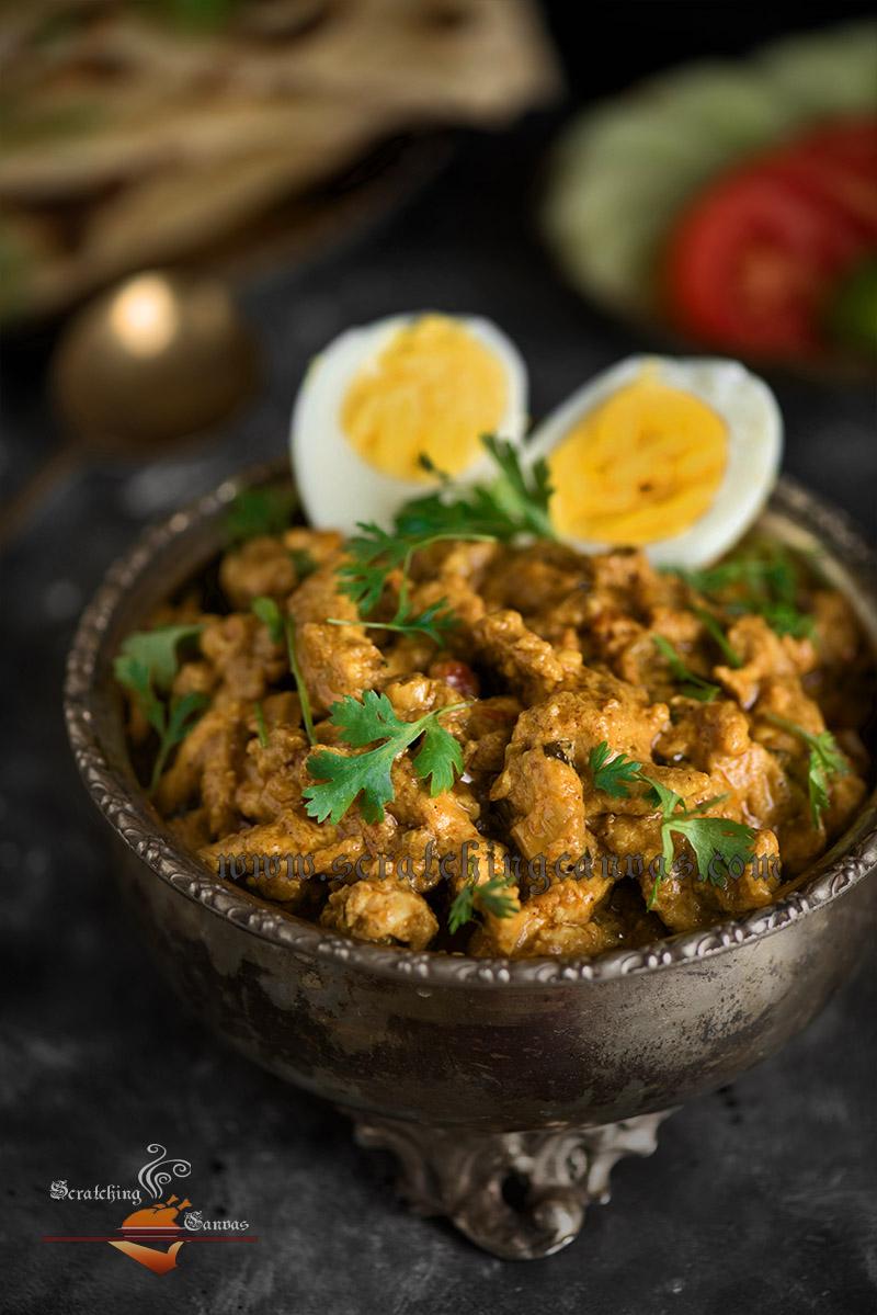 Bengali Chicken Bharta Recipe