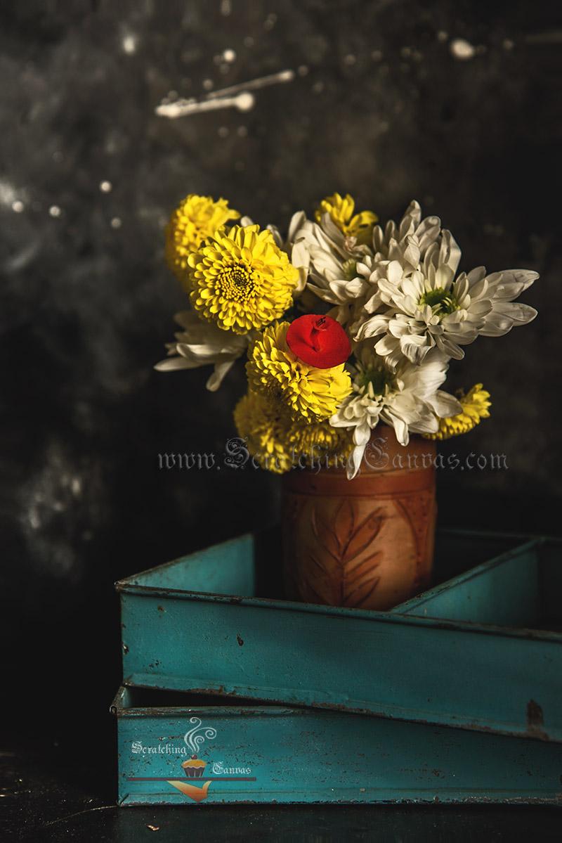 Diwali Flower Decor Art Photography