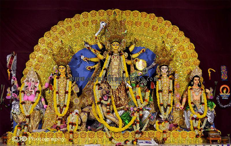 Pune Durga Puja Wanowari