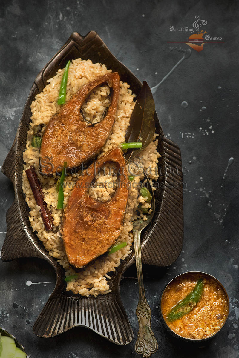 Hilsa Pilaf Recipe Video