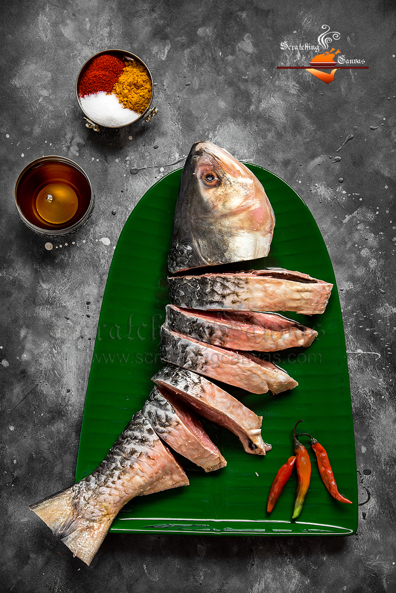 Raw Fish Food Photography Styling