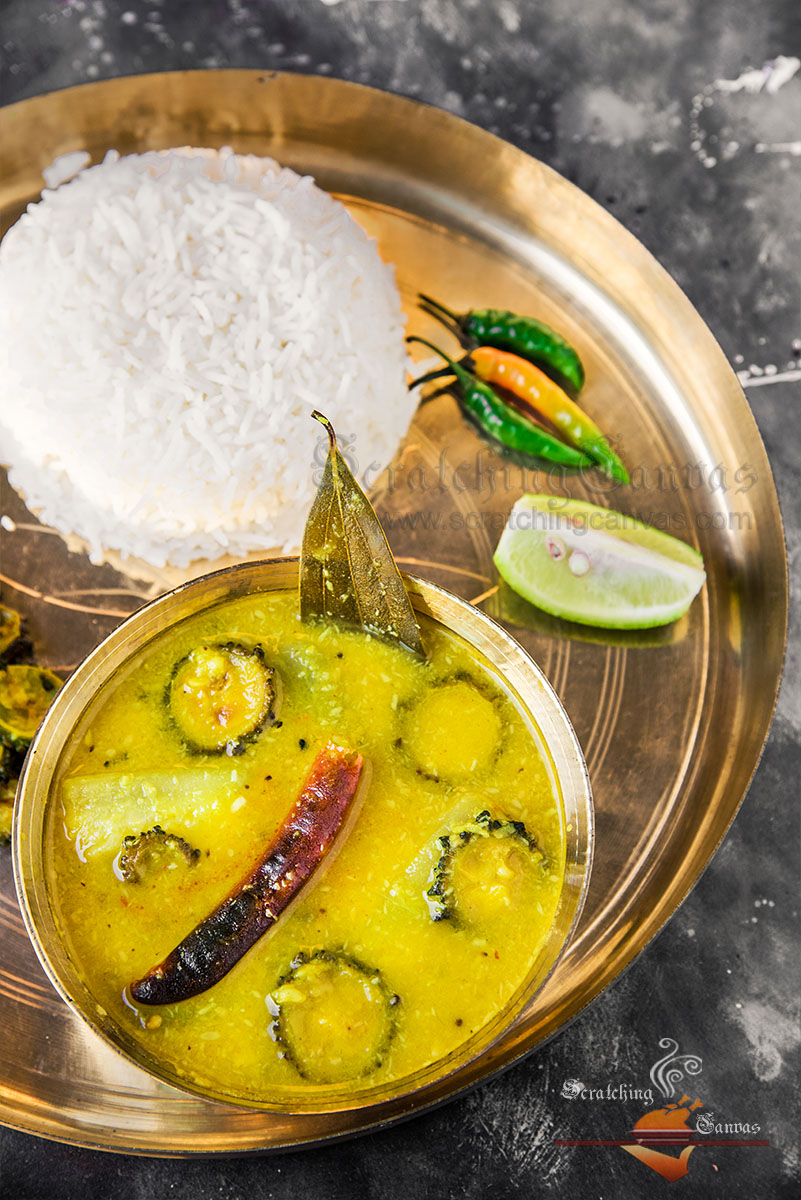 Bengali Moong Dal Food Photography Styling