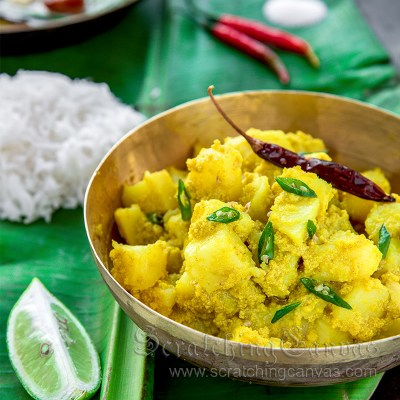 Aloo Posto | Authentic Bengali Alu Posto