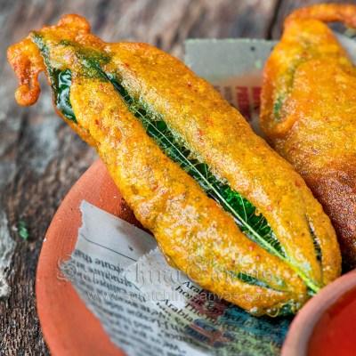 Pat Patar Bora | Pat Shaker Pakora | Jute Leaves Fritters | Pat Patar Pakora