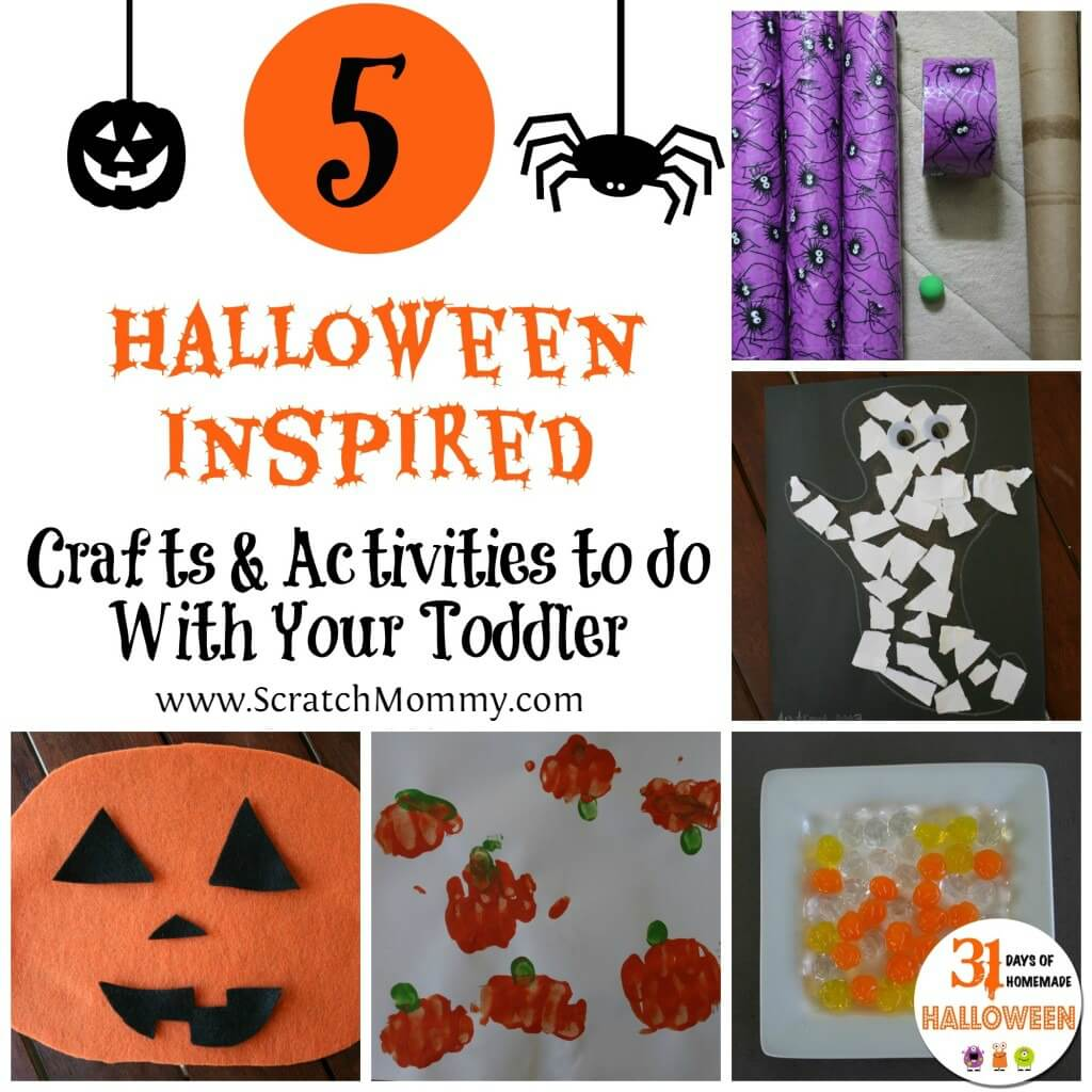 5 Halloween Inspired Crafts And Activities To Do With Your