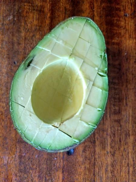 Avocado makes a healthy Paleo snack