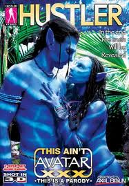 This Aint Avatar XXX movie from Hustler