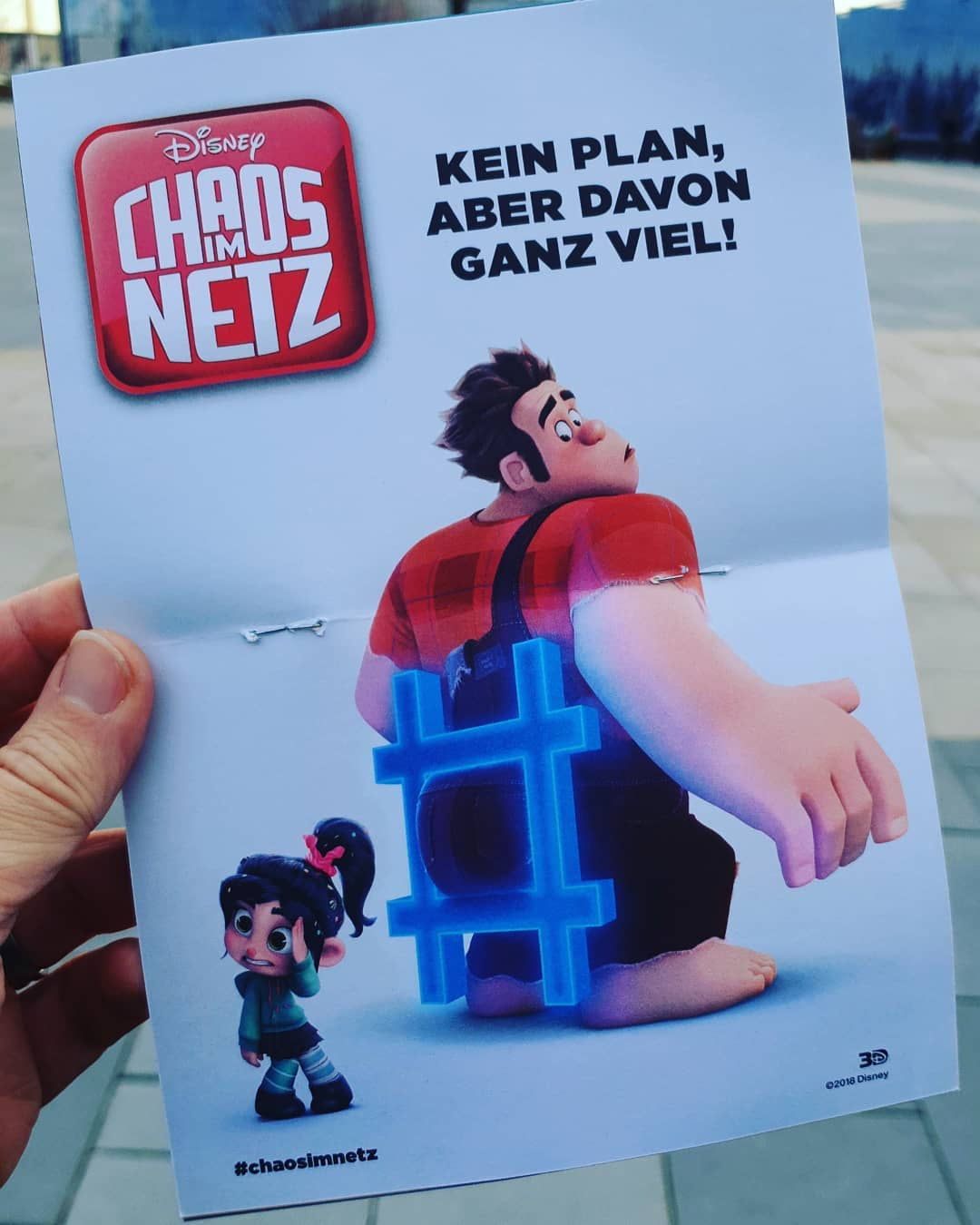 Mein neues Motto ? #wreckitralph2 #kino #kinderfilm #disney #austrianinstagram