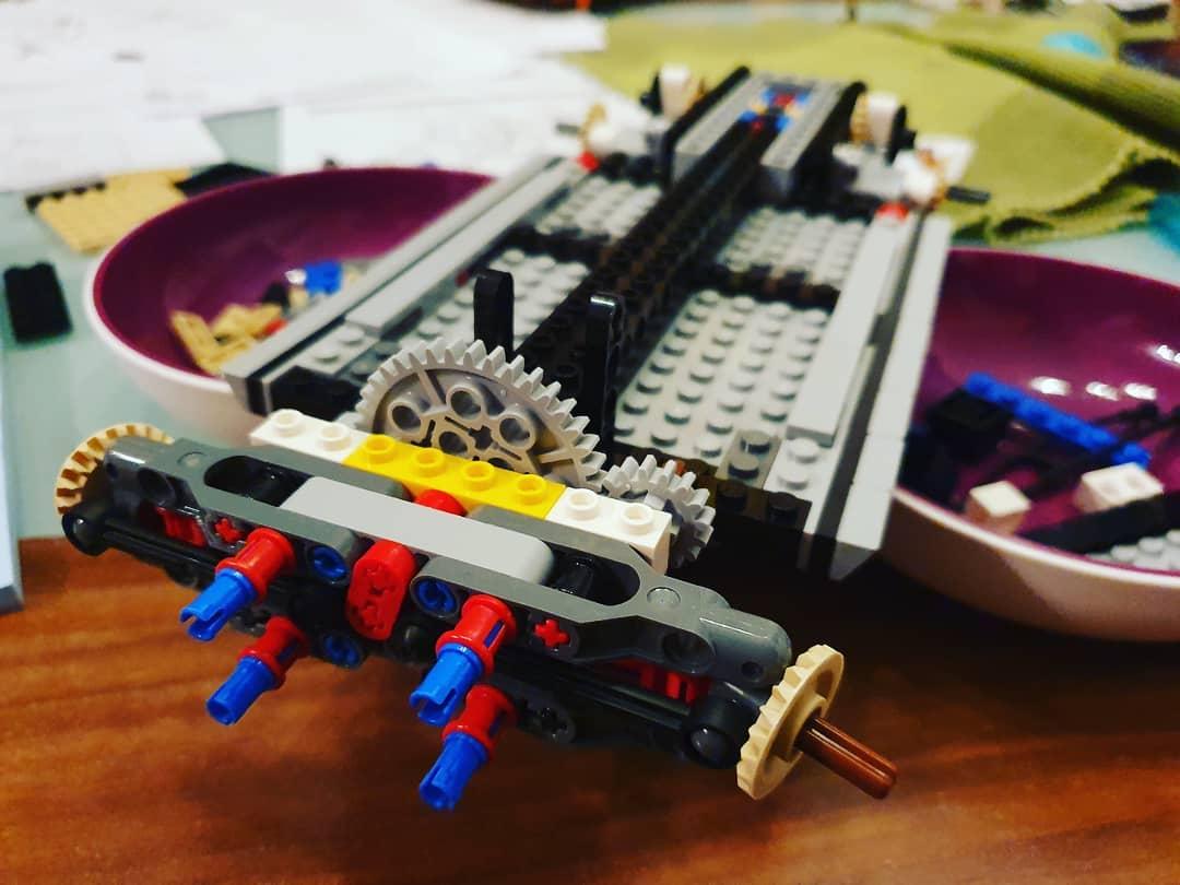 Bauabschnitt 1 des #lego #mustang #creator sets