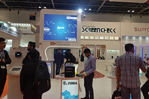 ScreenCheck @ Intersec 2018 Exhibition