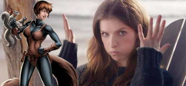 What Anna Kendrick Would Look Like As SQUIRREL GIRL