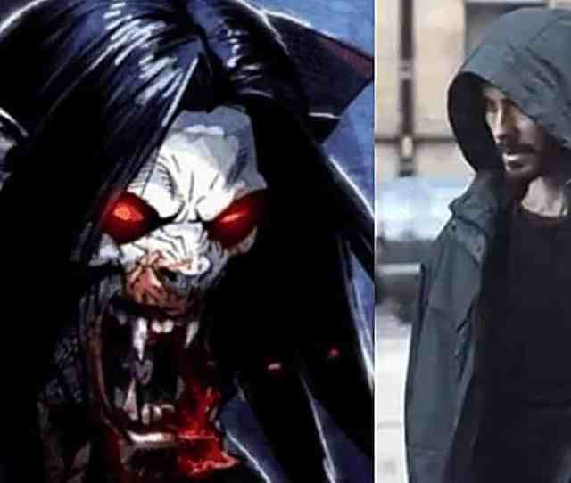 Jared Leto Shares First Look At Morbius The Living Vampire Movie