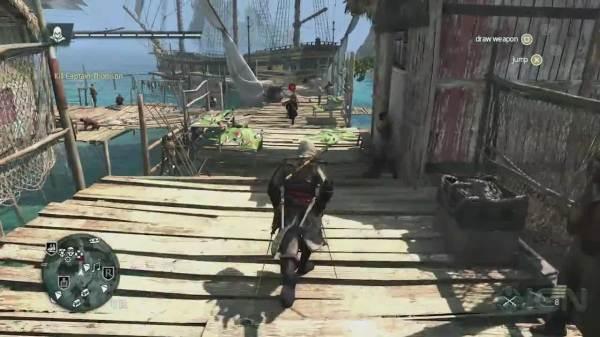 Assassin's Creed IV - Horizon Gameplay