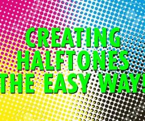Creating halftones the easy way