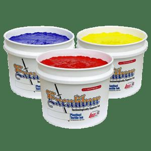 Excalibur 500 Series Plastisol Inks for wet on wet screen printing
