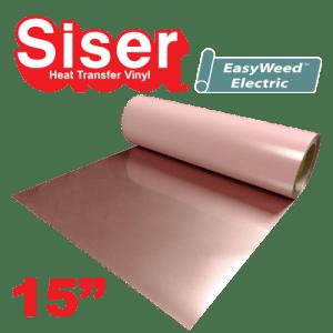 "Siser Easyweed 15"" Heat Transfer Vinyl Electric Colors"