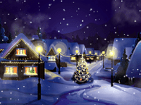 Christmas screensaver themes merry christmas and happy new year 2018 like snowflakes voltagebd Images
