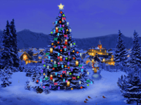 Microsoft screensaver themes for christmas merry christmas and like snowflakes voltagebd Images