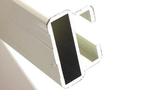 Il velario realizza tendaggi d'interno e da esterno, pergole, pensiline e propone soluzioni per ambienti. Guida In Alluminio Estruso 45x30 Mm Per Tenda Da Sole Giardino Mini