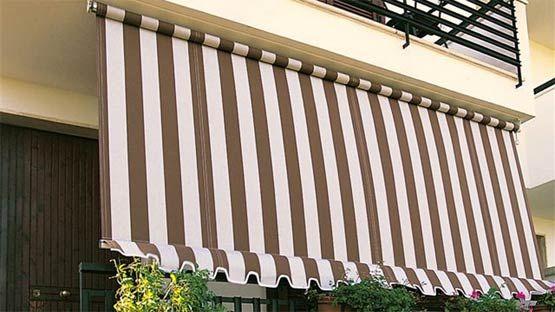 Telo di ricambio per tenda da sole tempotest parà. Tenda Da Sole Piu Economica Tipo A Caduta Per Balconi Senza Cassonetto
