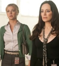 Emily Van Camp and Madeleine Stowe in REVENGE. Image courtesy and © ABC Television Network.