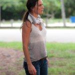 BURN NOTICE -- Episode 610 -- Pictured: Gabrielle Anwar as Fiona Glenanne -- (Photo by Glenn Watson/USA Network)