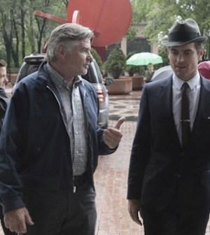 Matt Bomer as Neal Caffrey, Treat Williams as Sam -- (Photo by: Giovanni Rufino/USA Network)
