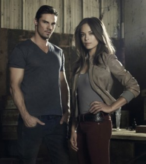 Pictured -- Jay Ryan as Vincent and Kristin Kreuk as Catherine. Image © the CW Network