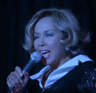 June (Diahann Carroll) belts out the standards at Harlem's Cotton Club (Image © USA Network)