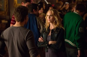 Paul Wesley and Candice Accola. Image © CW Network