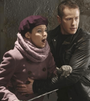 Ginnifer Goodwin as Snow White and Josh Dallas as Prince Charming in Once Upon A Time. Image © ABC