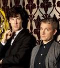 Benedict Cumberbatch and Martin Freeman as Holmes and Watson. Image © BBC