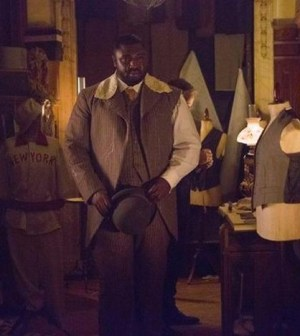 Pictured (L-R): Nonso Anozie and Jonathan Rhys Meyers -- Photo by: David Lukacs/NBC