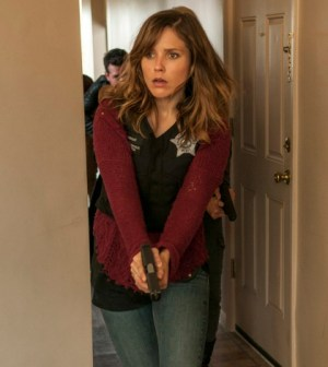 Episode 101 -- Pictured: Sophia Bush as Det. Erin Lindsay -- (Photo by: Matt Dinerstein/NBC)