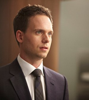 Pictured: Patrick J. Adams as Michael Ross -- (Photo by: Ian Watson/USA Network)