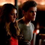 Pictured (L-R): Nina Dobrev as Elena and Paul Wesley as Stefan -- Photo: Annette Brown/The CW