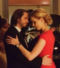 Pictured: (l-r) Aaron Stanford as James Cole, Amanda Schull as Dr. Cassandra Railly -- (Photo by: Ben Mark Holzberg/Syfy)