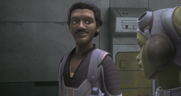 Lando makes a prerequisite appearance
