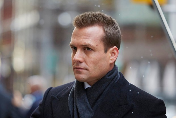 Pictured: Gabriel Macht as Harvey Specter -- (Photo by: Shane Mahood/USA Network)