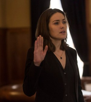 Pictured: Megan Boone as Liz Keen -- (Photo by: Eric Liebowitz/NBC)