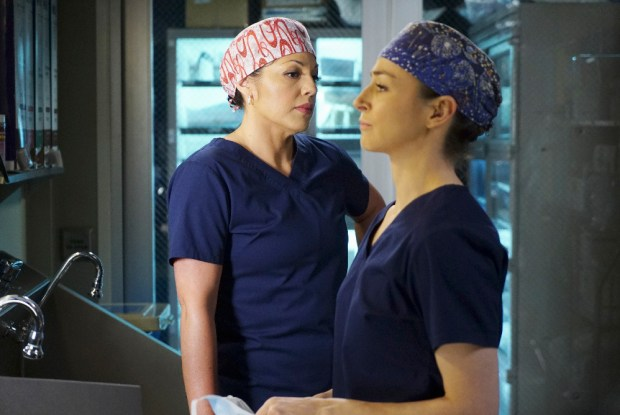 (ABC/Richard Cartwright) SARA RAMIREZ, CATERINA SCORSONE