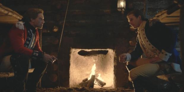 Pictured (L-R) Adam Harrington as Sutherland/Gamble and Ben Mumrich as Ben |Photo © AMC
