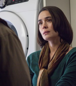 "WAYWARD PINES:  Theresa (Shannyn Sossamon) in the ""The Truth"" episode of WAYWARD PINES airing Thursday, June 11 (9:00-10:00  PM ET/PT) on FOX.  ©2015 Fox Broadcasting Co.  Cr:  Liane Hentscher/FOX"