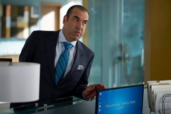 Pictured: Rick Hoffman as Louis Litt -- (Photo by: Shane Mahood/USA Network)