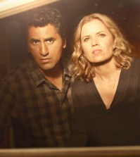Cliff Curtis as Travis and Kim Dickens as Madison  - Fear the Walking Dead Photo Credit: Frank Ockenfels 3/AMC