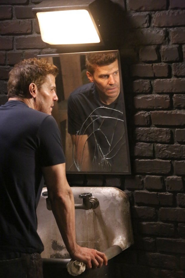 """David Boreanaz in the """"The Brother in the Basement"""" Co. Cr: Kevin Estrada/FOX"""