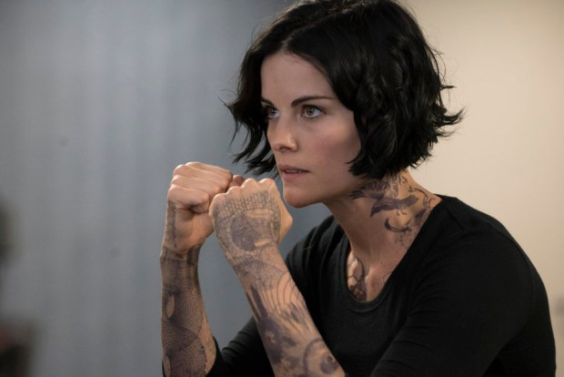 Pictured: Jaimie Alexander as Jane Doe -- (Photo by: Virginia Sherwood/NBC)